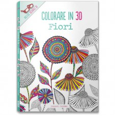 COLORARE IN 3D. FIORI